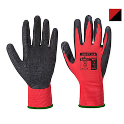 Manusi Latex Flex Grip Rosu/Negru Portwest A174