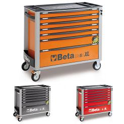 Dulap mobil extra-lung cu 7 sertare si sistem antirasturnare Beta C24SAXL/7
