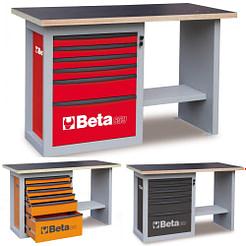 Banc de lucru cu 6 sertare Beta C59C